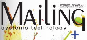 cover of Mailing Systems Technology magazine