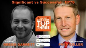 Fred Soller DataOceans CRO on the You, Me and Your Top Three podcast